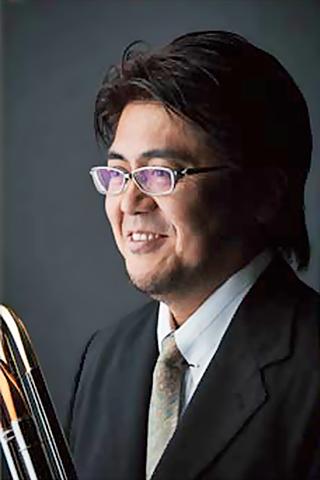 写真: 棚田和彦 たなだかずひこ  トロンボーン奏者          Kazuhiko Tanada
