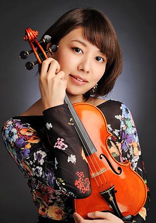 松田理奈 まつだりな ヴァイオリン奏者 ヴァイオリニスト