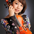 写真: 松田理奈 まつだりな ヴァイオリン奏者 ヴァイオリニスト   Lina Matsuda