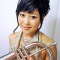 写真: 岩月美樹 いわつきみき トランペット奏者  Miki Iwatsuki