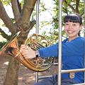 写真: 藤井春香 ふじいはるか ホルン奏者  Haruka Fujii