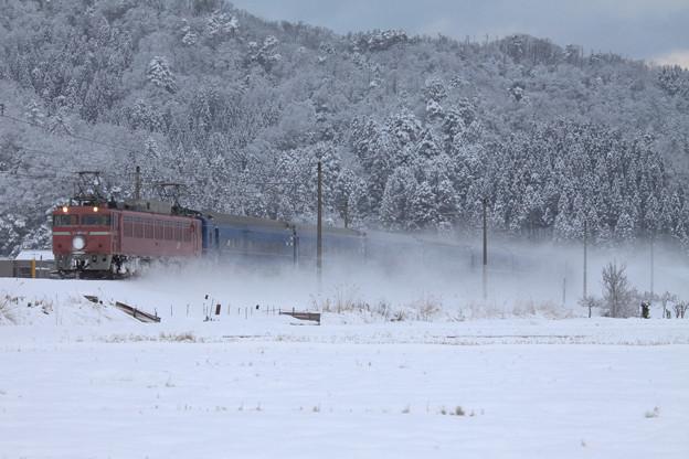 雪原疾走。