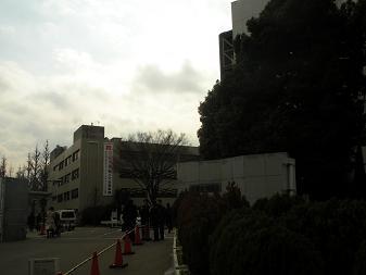 東京工業大学 大岡山キャンパス正門2