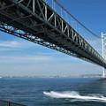 写真: Akashi Strait Bridge
