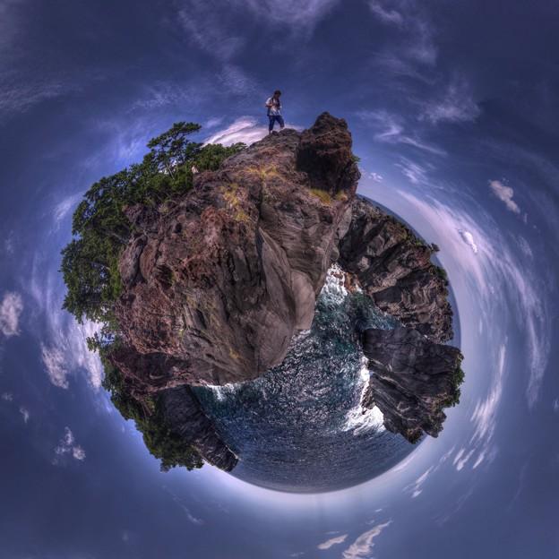 Photos: 城ヶ崎海岸 かどかけ Little Planet