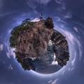 城ヶ崎海岸 かどかけ Little Planet