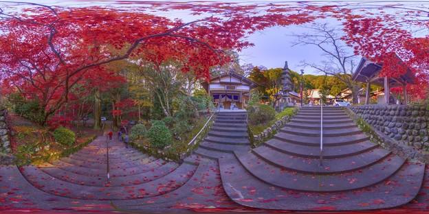 洞慶院 紅葉  360度パノラマ写真〈2〉