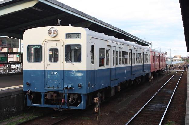 関東鉄道 キハ100形102