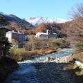 利根川と谷川岳