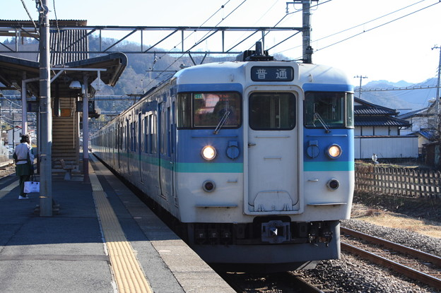 Photos: 中央本線 115系1000番台C14編成