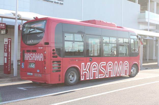 かさま周遊観光バス 後部
