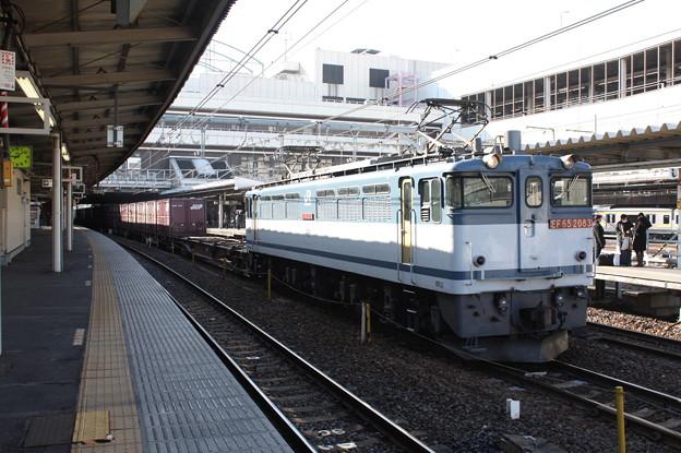 3083レ EF65 2083牽引