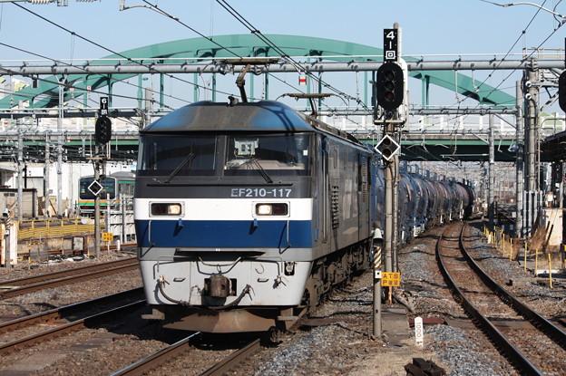 Photos: 5582レ EF210-117牽引 (5)