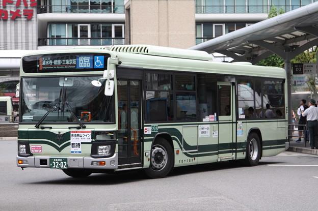 京都市営バス 新型エルガ 3202号車