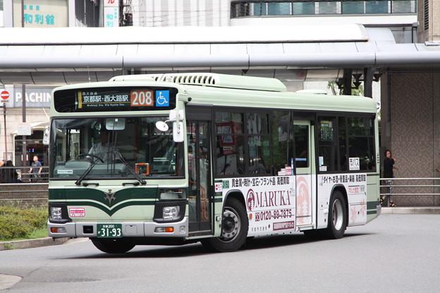 京都市営バス 新型エルガ 3193号車