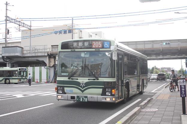 京都市営バス 878号車