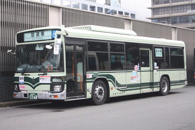 京都市営バス 新型エルガ 3368号車