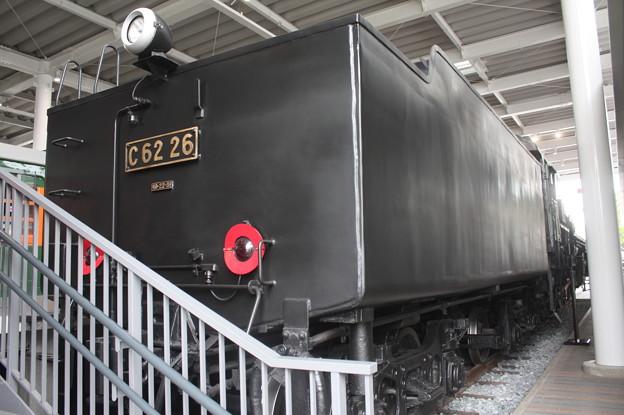 C62 26 炭水車側