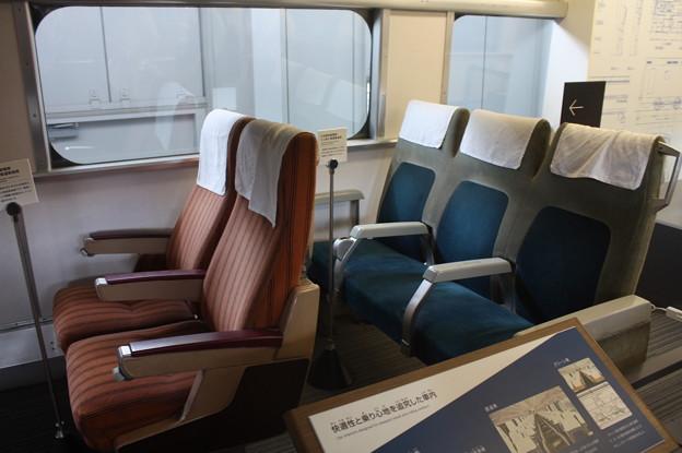 0系 座席