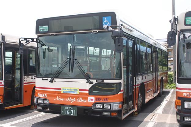 東武バス 9888号車