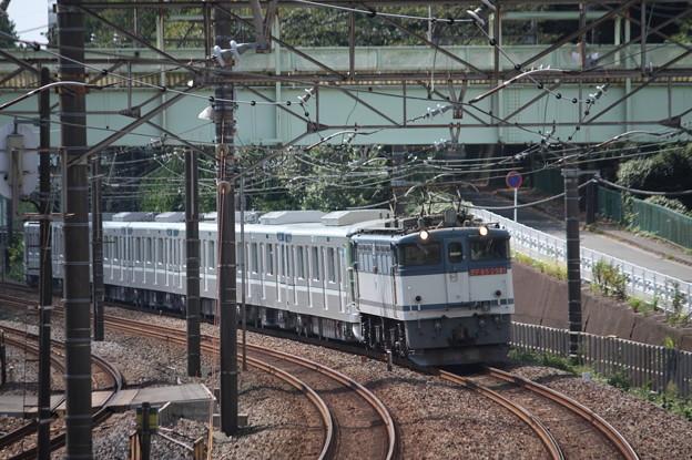 8860レ 東京メトロ13000系甲種輸送 EF65 2081牽引 (1)