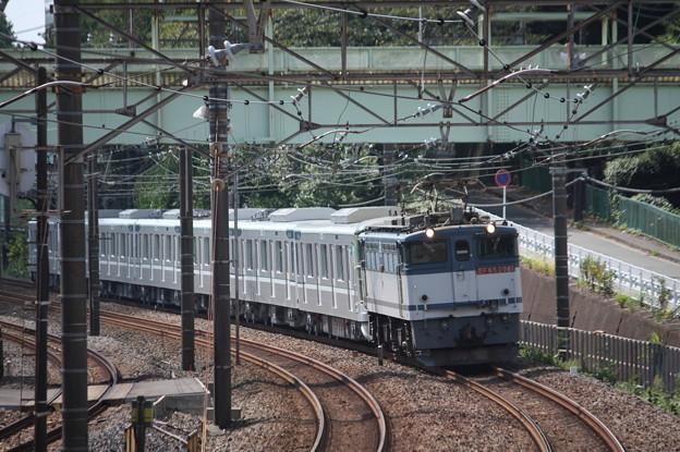 8860レ 東京メトロ13000系甲種輸送 EF65 2081牽引 (2)