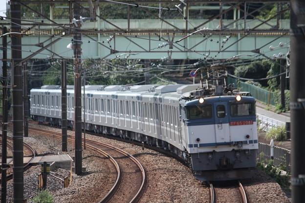 8860レ 東京メトロ13000系甲種輸送 EF65 2081牽引 (6)