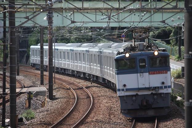 8860レ 東京メトロ13000系甲種輸送 EF65 2081牽引 (7)