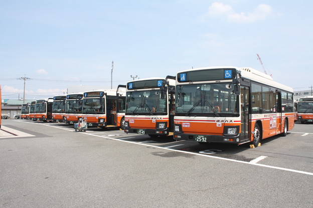 東武バス 新型ブルーリボン