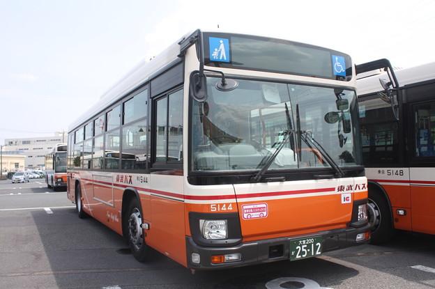 東武バス 新型ブルーリボン 5144号車