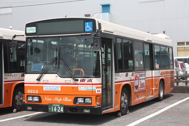 東武バス 9858号車
