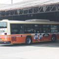 Photos: 東武バスウエスト大宮営業事務所で整備を受ける5041号車