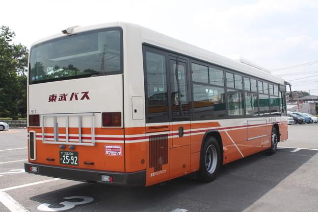 Photos: 東武バス 新型ブルーリボン 5171号車