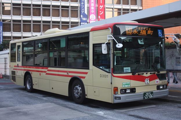 京王バス D31311号車