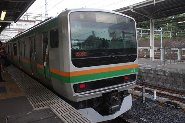 上野東京ライン E231系1000番台U113編成