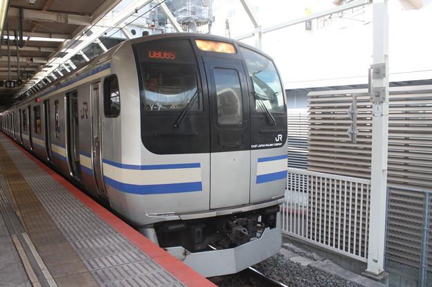 横須賀線 E217系Y-7編成