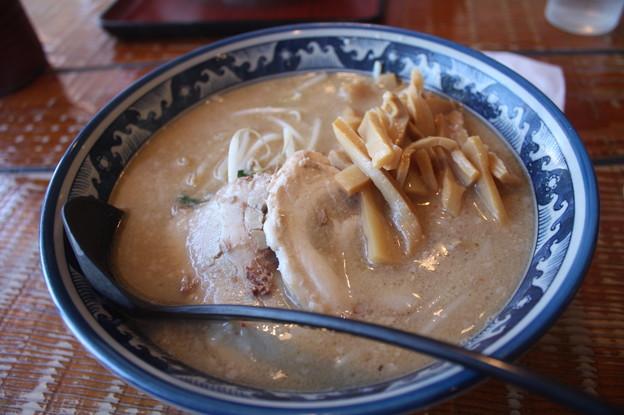 古澤(こたん)食堂 味噌ラーメン メンマ トッピング