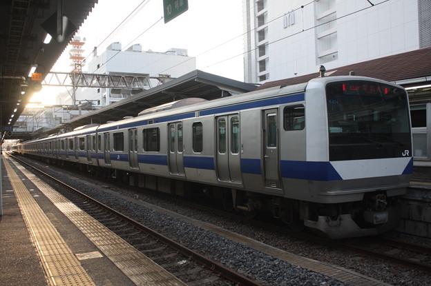 常磐線 E531系K414編成