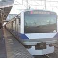 写真: 常磐線 E531系K421編成 323M 普通 高萩 行