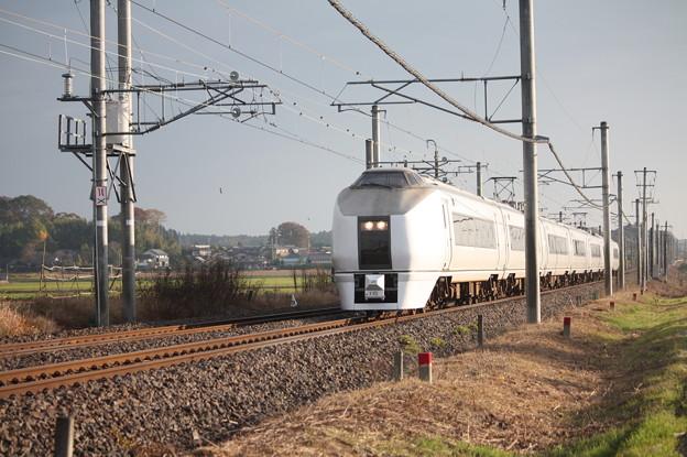 651系K105編成 9424M 快速ぶらり高尾散策号 (2)