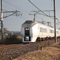 写真: 651系K105編成 9424M 快速ぶらり高尾散策号 (3)