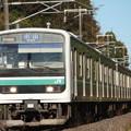 水戸線 E501系K754編成 754M 普通 小山 行 (2)