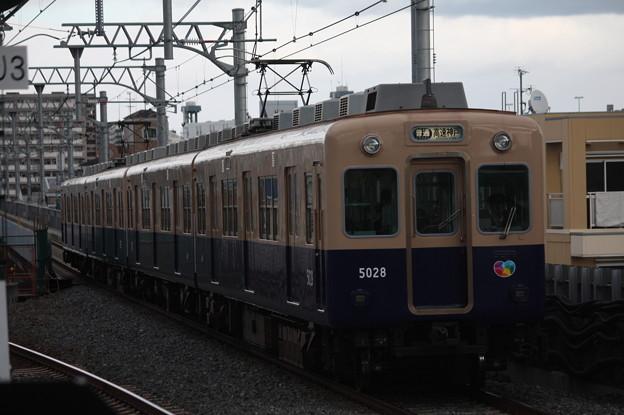 阪神本線 5000系5028F 普通 高速神戸 行
