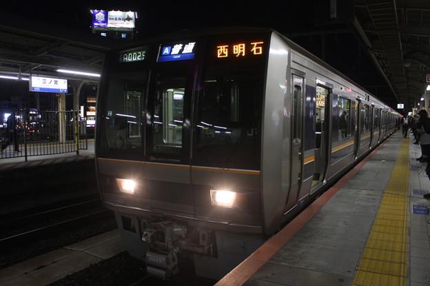JR神戸線 207系2000番台S64編成 普通 西明石 行