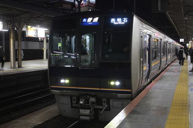 JR神戸線 207系1000番台S24編成 リニュアール車 普通 西明石 行