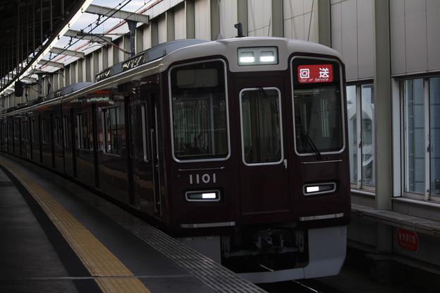 阪急宝塚線 1000系1001F 回送