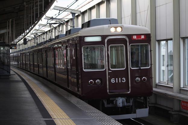 阪急宝塚線 6000系6013F 回送