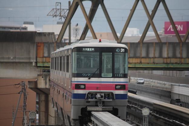 大阪モノレール 1000系1131F