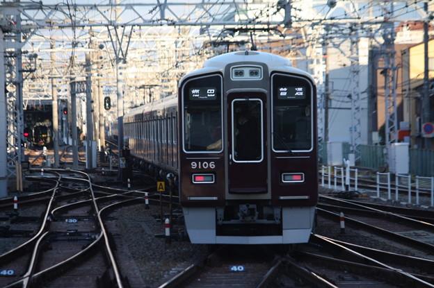 阪急神戸線 9000系9006F 普通 阪急梅田 行