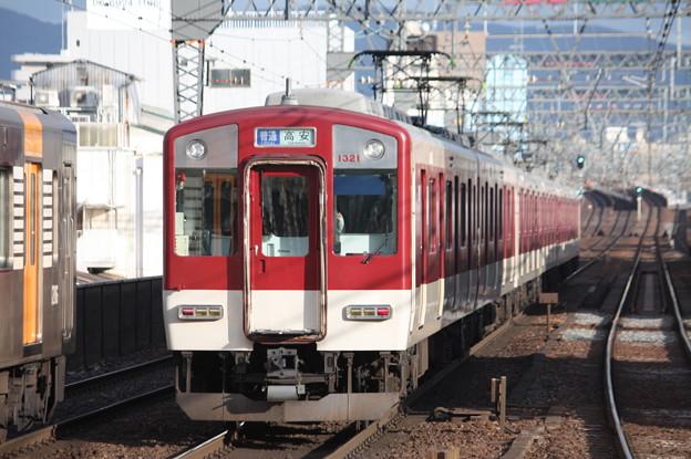 近鉄奈良線 1620系1321F 普通 高安 行